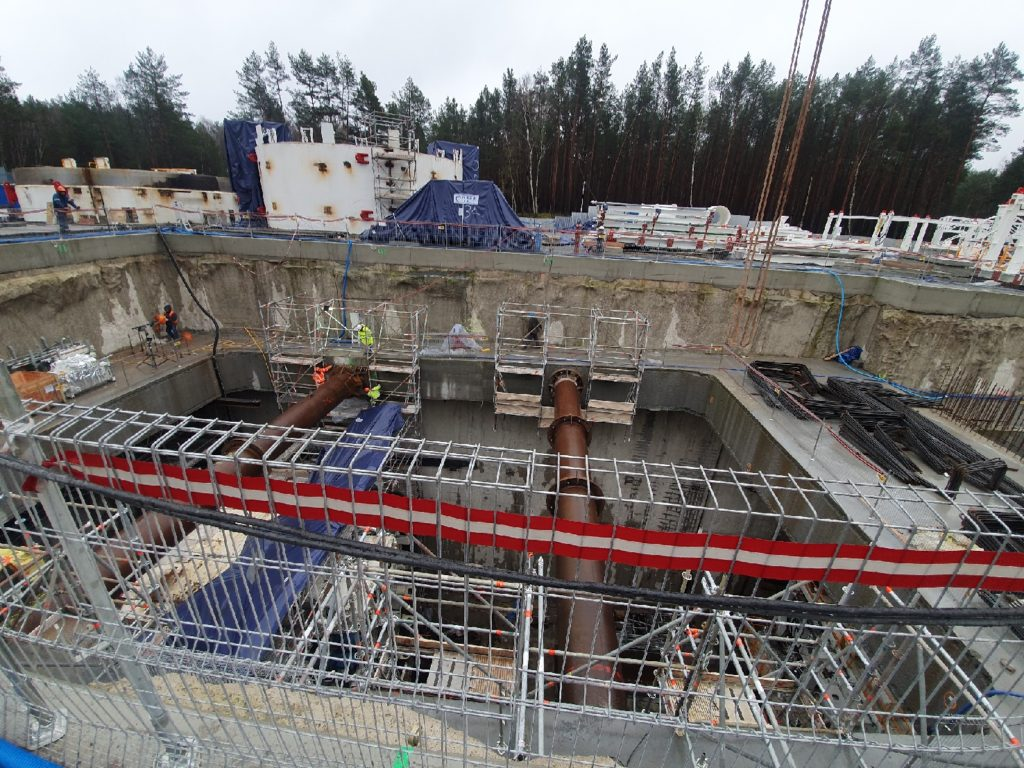 Rozpora hydrauliczna Tunel Świnoujście